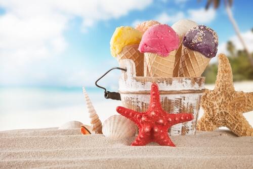 jednoduchá výroba domácí zmrzliny